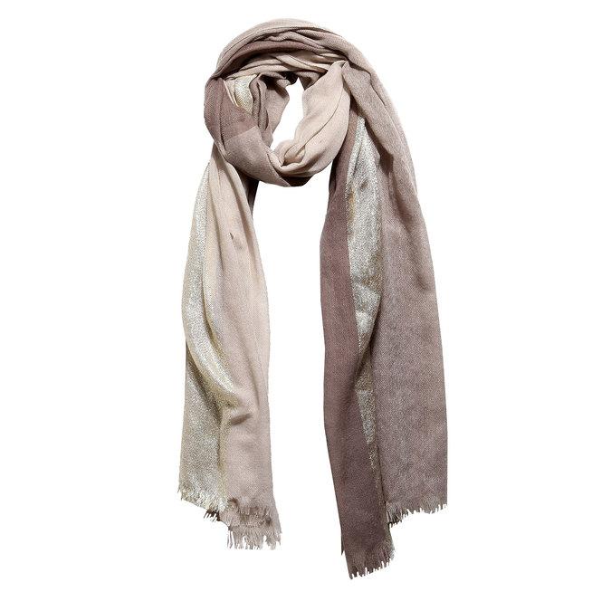 Damski szal bata, brązowy, 909-4310 - 13
