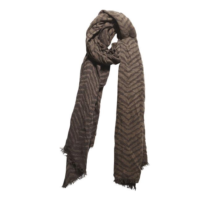 Damski szal bata, brązowy, 909-4331 - 13