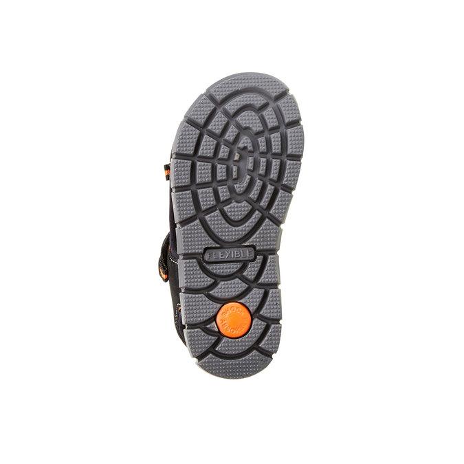 Sandały dziecięce mini-b, czarny, 361-6120 - 26