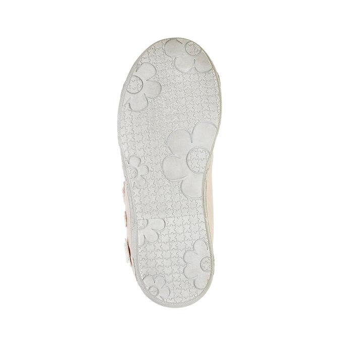 Dziewczęce buty sportowe na rzepy mini-b, różowy, 221-5161 - 26