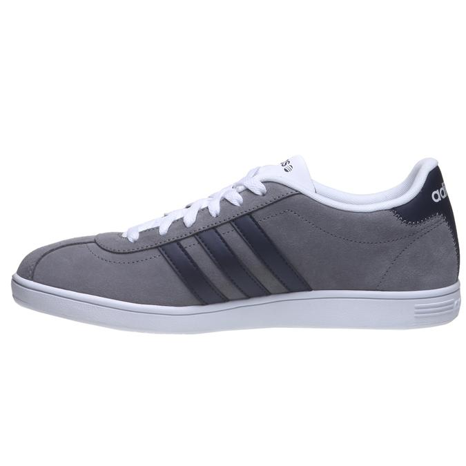 Męskie buty spacerowe adidas, szary, 803-2122 - 15