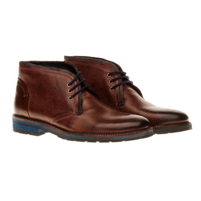 Skórzane buty typu Chukka bata, brązowy, 894-4126 - 26