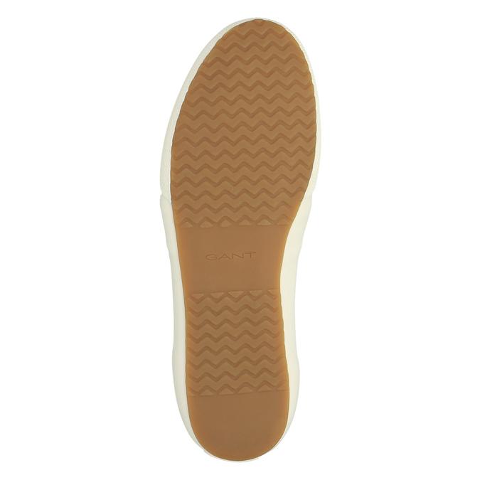 Męskie buty sportowe w codziennym stylu gant, biały, 849-1020 - 26