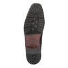 Męskie skórzane półbuty bata, czarny, 824-6669 - 26