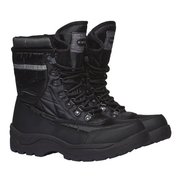 Męskie śniegowce bata, czarny, 899-6102 - 26