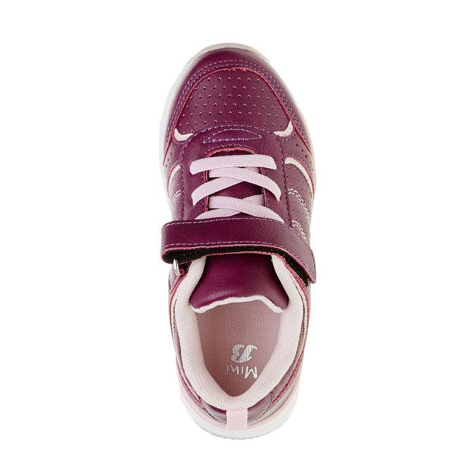 Dziewczęce buty sportowe mini-b, fioletowy, 321-9185 - 19