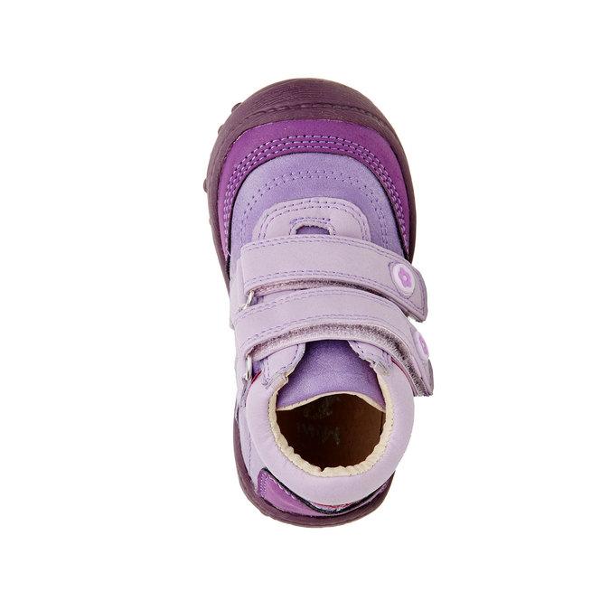 Dziewczęce botki mini-b, fioletowy, 121-9104 - 19