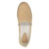 Damskie skórzane buty Slip-On flexible, beżowy, 515-8203 - 19