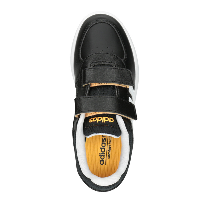 Trampki dziecięce na rzepy adidas, czarny, 301-6167 - 19