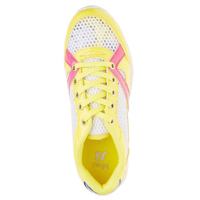 Dziecięce buty sportowe mini-b, żółty, 329-8175 - 19