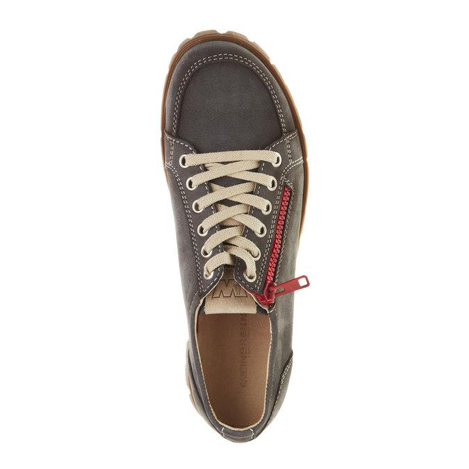Skórzane buty sportowe z zamkiem weinbrenner, brązowy, 546-9246 - 19