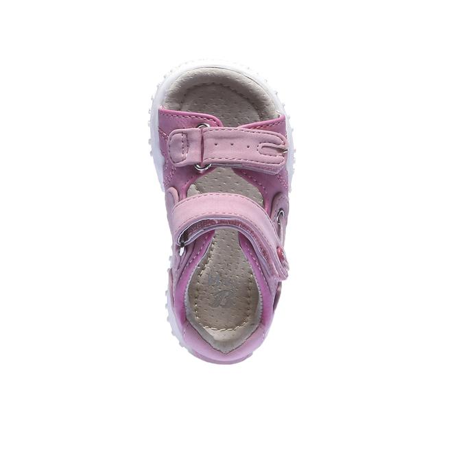 Sandały dziewczęce mini-b, czerwony, 161-5116 - 19