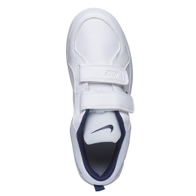 Dziecięce buty sportowe na rzep nike, biały, niebieski, 304-9548 - 19