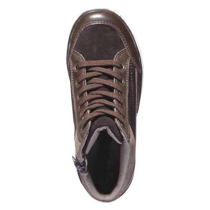 Buty dziecięce mini-b, brązowy, 313-4178 - 19