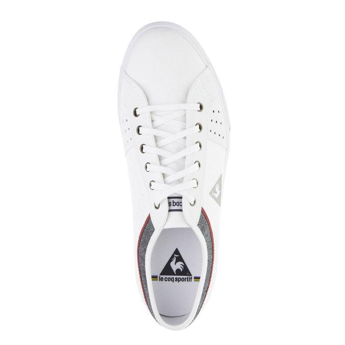 Białe męskie tenisówki le-coq-sportif, biały, 889-1142 - 19