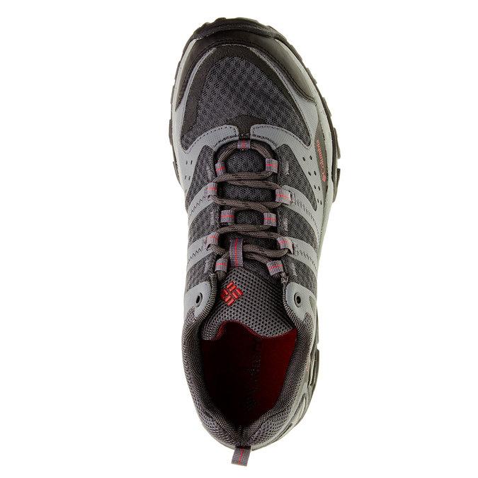 Męskie buty sportowe columbia, czarny, szary, 849-6018 - 19