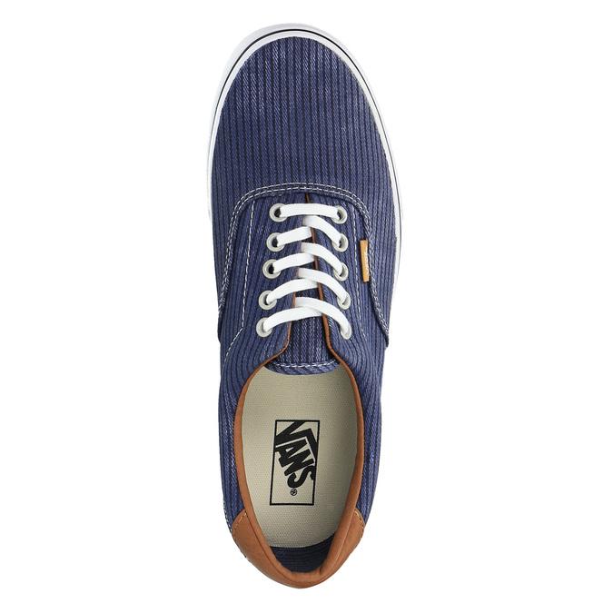 Męskie buty sportowe w codziennym stylu vans, niebieski, 849-9022 - 19