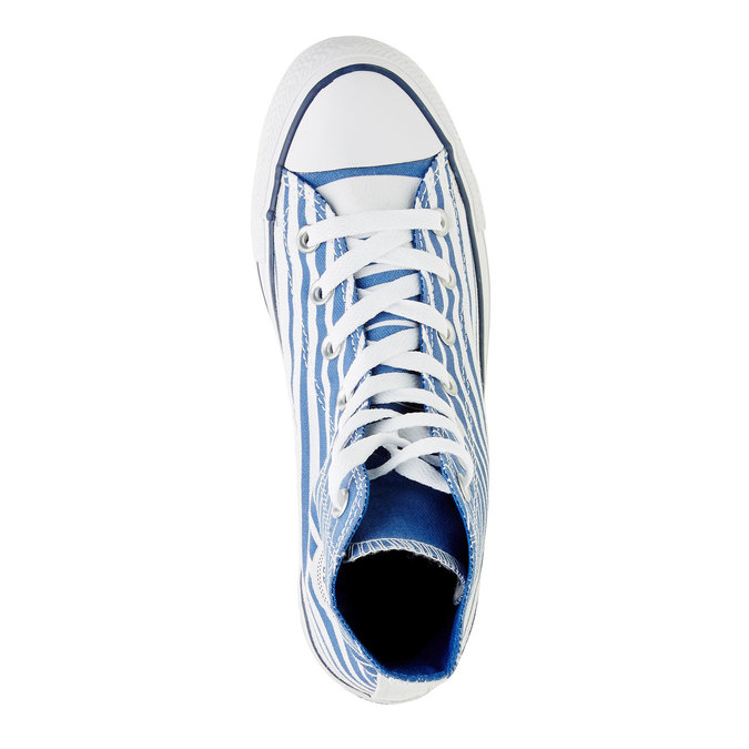 Trampki męskie za kostkę converse, niebieski, 899-9004 - 19