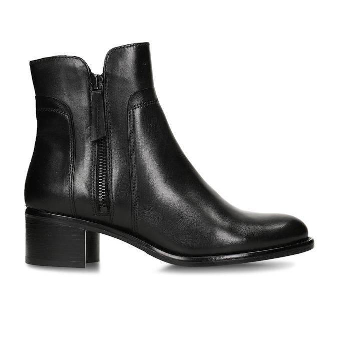 Botki damskie bata, czarny, 694-6600 - 19