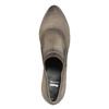Skórzane półbuty na obcasie bata, brązowy, 796-2603 - 19