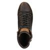 Trampki męskie za kostkę bata, brązowy, 844-4625 - 19