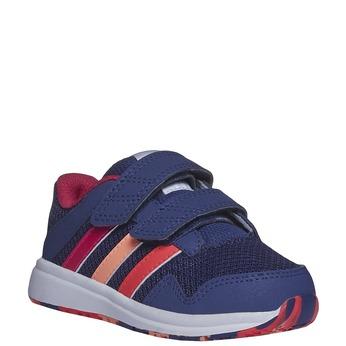 Dziecięce buty sportowe na rzepy adidas, niebieski, 109-5164 - 13