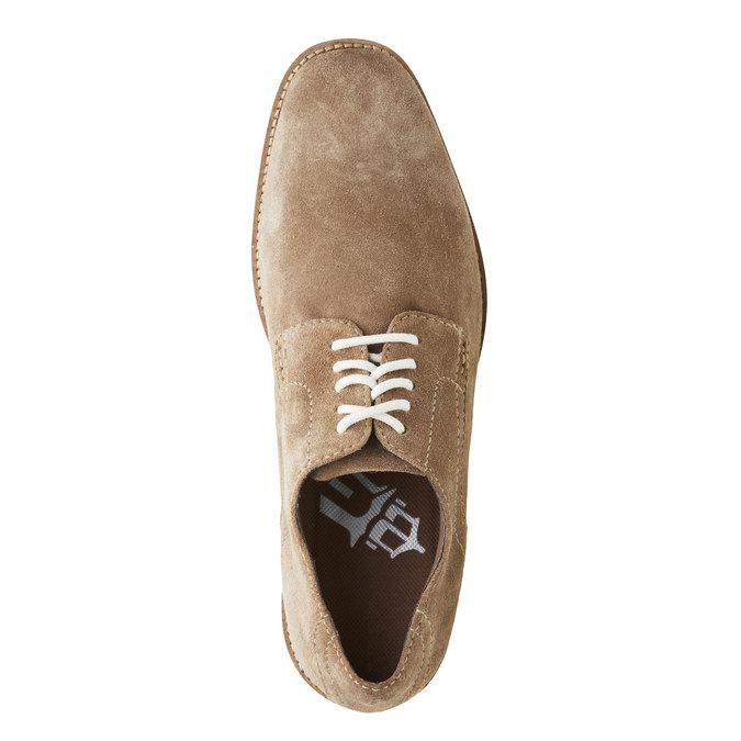Półbuty z zamszowej skóry rockport, brązowy, 823-8102 - 19