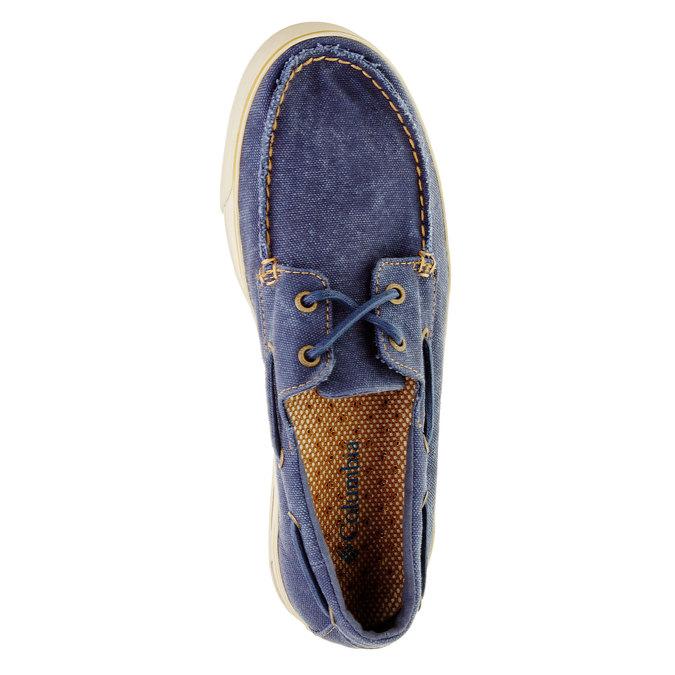 Mokasyny w codziennym stylu columbia, niebieski, 849-9025 - 19