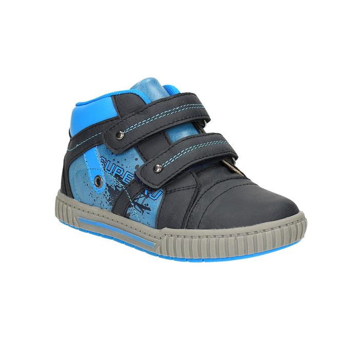 Trampki dziecięce za kostkę mini-b, niebieski, 211-9603 - 13
