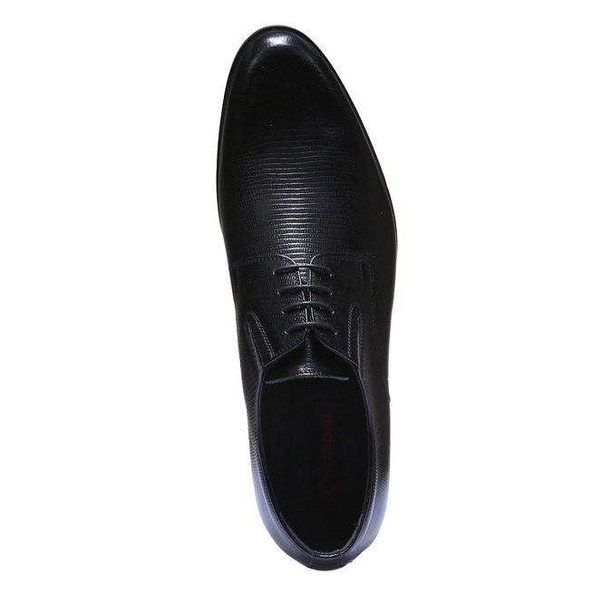 Półbuty Męskie bata, czarny, 824-6252 - 19