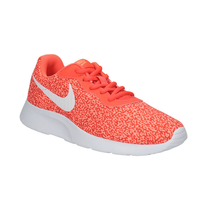 Damskie buty w sportowym stylu nike, pomarańczowy, 509-5457 - 13