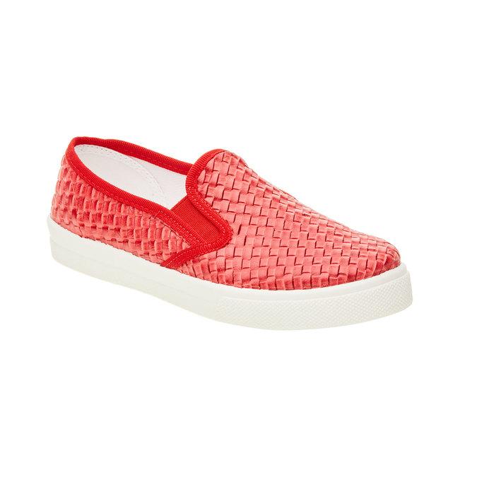 Dziecięce buty Slip On w kolorze czerwonym north-star-junior, czerwony, 321-5186 - 13