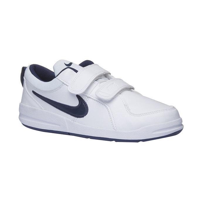 Dziecięce buty sportowe na rzep nike, biały, niebieski, 304-9548 - 13