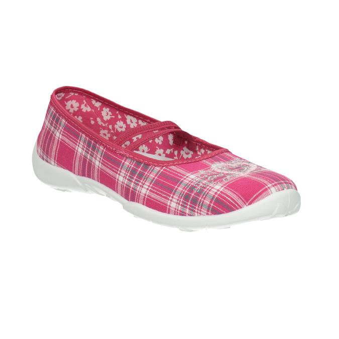 Domowe buty dziecięce mini-b, różowy, 379-5207 - 13
