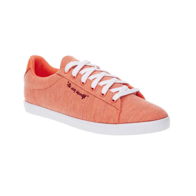 Damskie buty sportowe le-coq-sportif, pomarańczowy, 509-5770 - 13