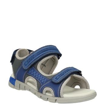 Sandały dziecięce mini-b, niebieski, 363-9182 - 13