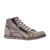Designerskie buty skórzane weinbrenner, brązowy, szary, 544-2145 - 13