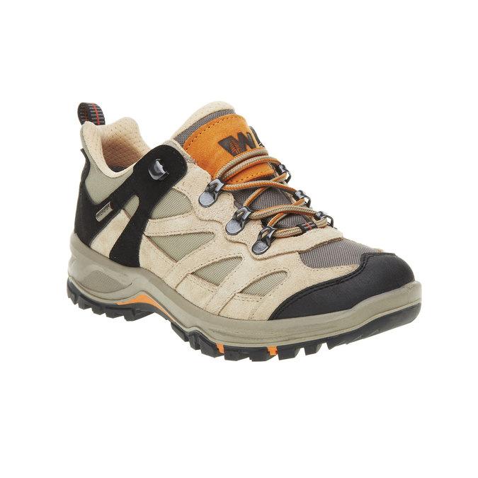 Skórzane buty Outdoor north-star, żółty, 543-8208 - 13