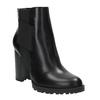 Botki na obcasie z elastycznymi bokami bata, czarny, 791-6604 - 13