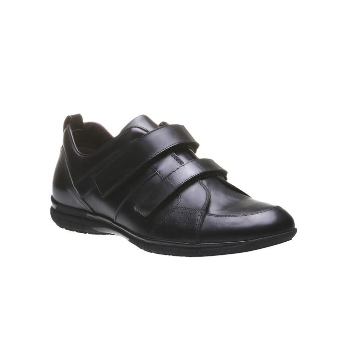 Skórzane buty sportowe bata, czarny, 814-6344 - 13