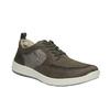 Męskie skórzane buty sportowe, brązowy, 843-4632 - 13