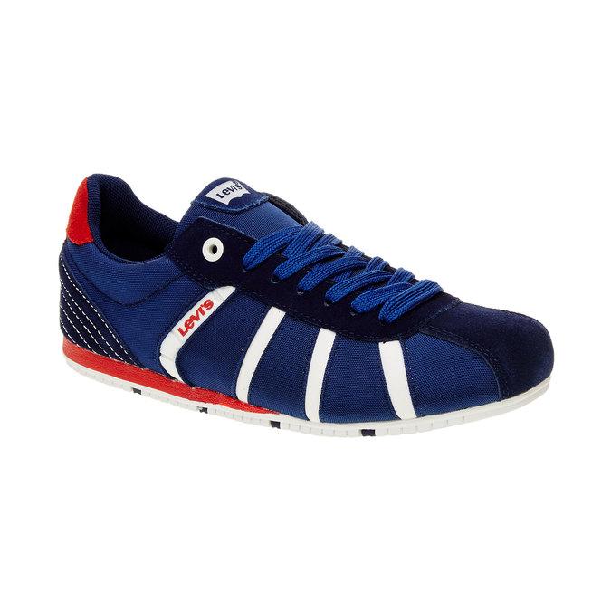 Męskie buty sportowe na co dzień levis, niebieski, 841-9198 - 13