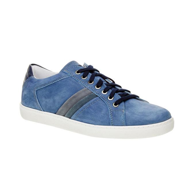 Zamszowe buty sportowe w codziennym stylu bata, niebieski, 846-9638 - 13