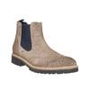 Zamszowe buty Chelsea bata, brązowy, 893-2373 - 13