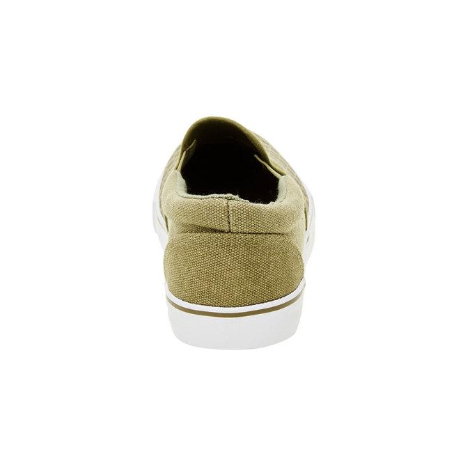 Dziecięce buty typu Slip-On mini-b, zielony, 319-7215 - 17