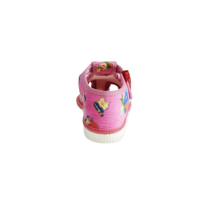 Kapcie dziecięce bata, różowy, 179-5210 - 17