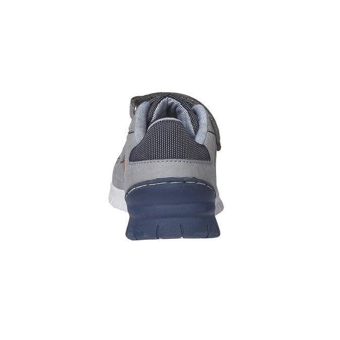 Dziecięce buty sportowe na rzepy mini-b, szary, 311-2190 - 17
