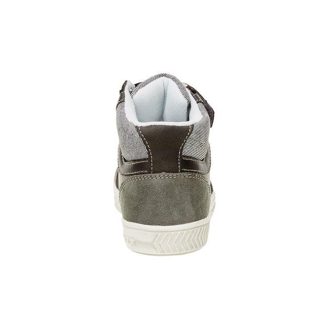 Dziecięce buty sportowe do kostki mini-b, szary, 211-2156 - 17