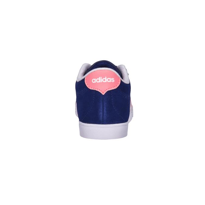 Damskie skórzane buty sportowe adidas, niebieski, 503-9201 - 17