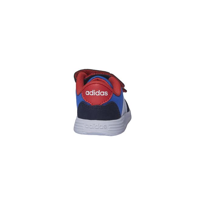 Buty dziecięce adidas, niebieski, 109-9168 - 17